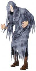 Grå spökmaskeraddräkt - Halloween Maskeraddräkter