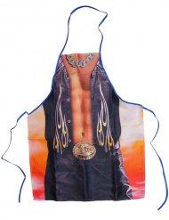 Sexigt Cowboy-förkläde