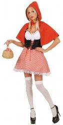 Klassisk Lilla rödluvan - Maskeradkläder för vuxna