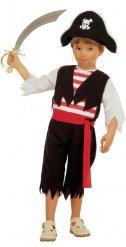 Piratkapten - Maskeraddräkt för barn