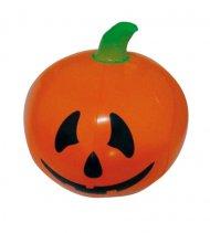 Uppblåsbar pumpa till Halloween - Bus eller godis