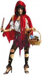 Lilla zombie Rödluvan - Halloweendräkt för vuxn