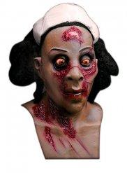 Zombie-sjuksköterska vuxenmask