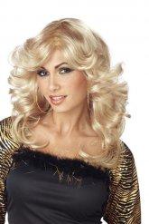 Blond discoperuk dam