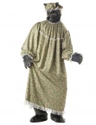 Stora stygga vargen - Maskeraddräkt för vuxna