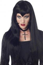 Gotisk vampyr - Peruk till Halloween för vuxna