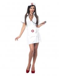 Sjuksköterskan Sia damdräkt