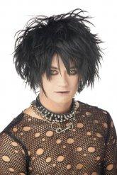 Emo - Gotisk peruk för vuxna