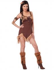 Tuff indian - Maskeradklänning för vuxna