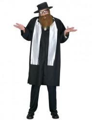 Rabbin Rubbe herrdräkt med skägg