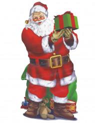 Väggmålning med Jultomte på 165* 85 cm. - Julpynt