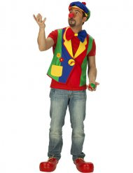 Clownens väst - Maskeradkläder för vuxna
