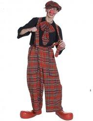 Clownen Scottie - Maskeradkläder för vuxna