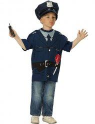 Poliskonstapeln - T-shirt för barn till kalaset