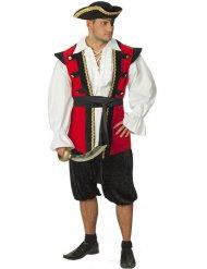 Pirat från renässansen - Maskeraddräkt för vuxna