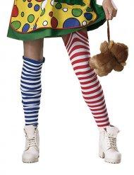 Randiga clownstrumpor - Maskeradtillbehör för vuxna