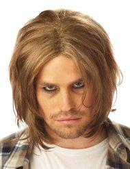 Blond grungeperuk herr