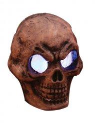 Lysande dödskalle - Halloween pynt