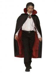 Vampyrmantel i svart och rött - Halloweenkostym för barn