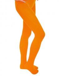 Orangea strumpbyxor för barn - Maskeradtillbehör