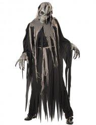 Zombiedödskalle - Halloweenkostym för vuxna