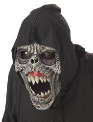 Zombie - Ani-motion mask med rörelse för vuxna till Halloween