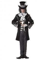 Galen hattmakare i svart - Maskeraddräkt för vuxna