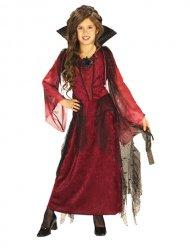 Gotisk vampyrdräkt för barn till Halloween