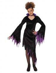 Vampyr maskeraddräkt i lila och svart för barn - Halloween Maskeraddräkt