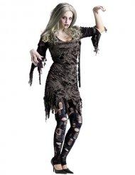 Hunriga Helen - Zombiedräkt till Halloween för vuxna