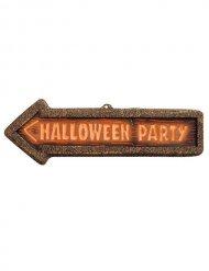 Halloween Party - Skylt till Halloween