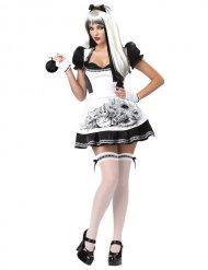 Alice noir - Maskeraddräkt för vuxna