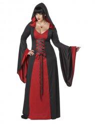 Demonisk skrud - Halloweenkostym i stora storlekar