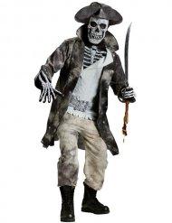 Kapten skelett - Halloweenkostym för vuxna