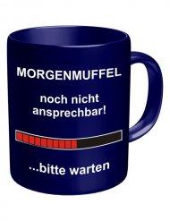 Morgenmuffel - Tysk mugg för den som inte gillar morgnar