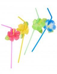 Blommiga sugrör till sommarfesten!