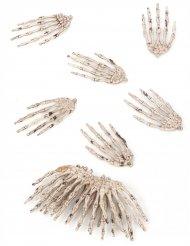 12 skeletthänder till Halloween