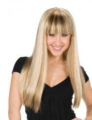 Paryk til kvinder med pandehår blond