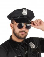 Special Police - Svart poliskeps till maskeraden