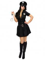 Fräck polisklänning för vuxna till maskeraden