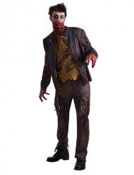 Hungrig på hjärnor - Zombiedräkt för vuxna till Halloween