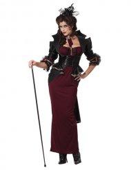 Lady of darkness - Halloweenkostym för vuxna