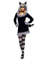Söt tvättbjörn - Maskeradkläder för vuxna