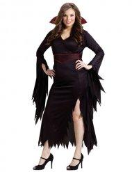 Flörtig Vampyr - Halloweenkläder för större vuxna