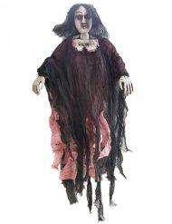 Hängande zombiekvinna 90cm - Halloween pynt