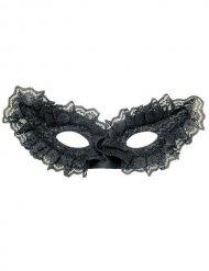 Svart venetiansk mask vuxen