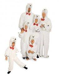 Lurvig isbjörn - Maskeradkläder för vuxna
