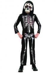 Skelett med ögon - Halloweenkostym för barn