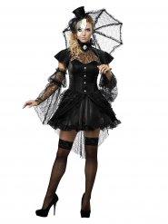Gotisk skönhet - Halloweenkostym för vuxna