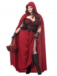 Gotiska lilla rödluvan - Halloweenkostym för vuxna